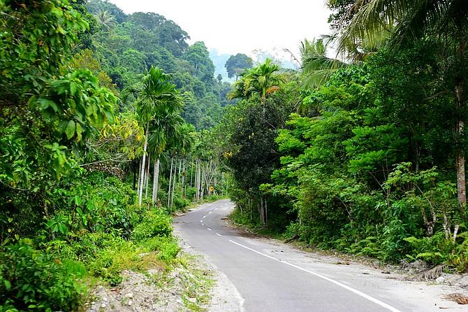 The Ride into Sabang