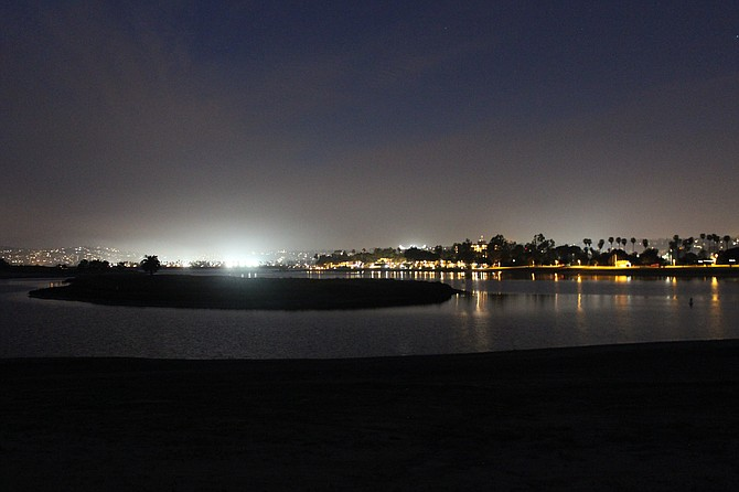 Nighttime views of San Diego from a fresh vantage point.