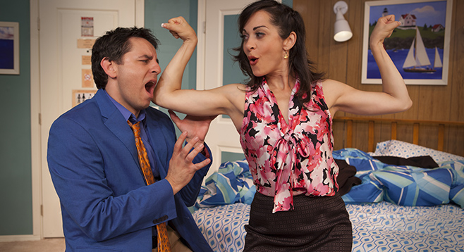 Last call unnecessary farce at north coast rep san for Farcical comedy movies