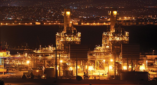 In order to take over a power plant in Escondido, commissioner Peevey allegedly said SDG&E first had to draw up a contract to purchase power from this Calpine plant in Otay Mesa.