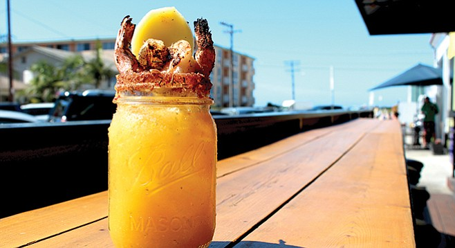 The Duck Dive's Jamaican Me Crazy Bloody Mary