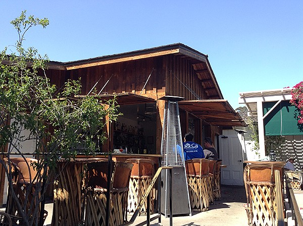 Bar in the patio