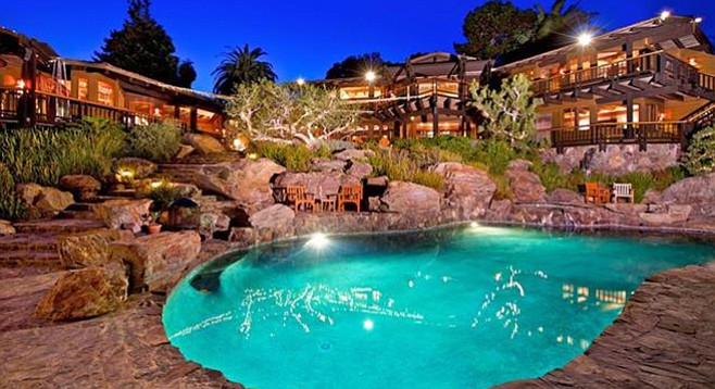 """For $10.5 million, the pool better be """"organically located."""""""