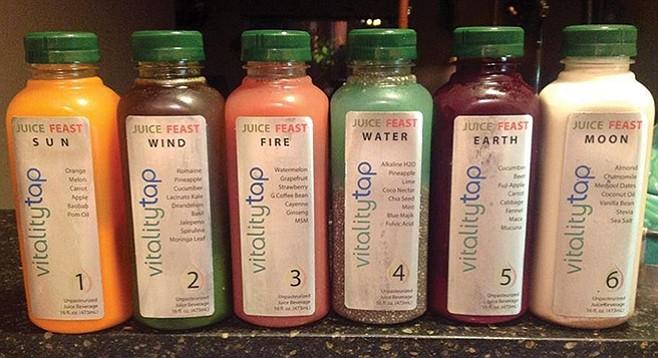 Vitality Tap juices