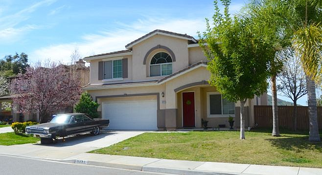 The McStay family's home before they were killed