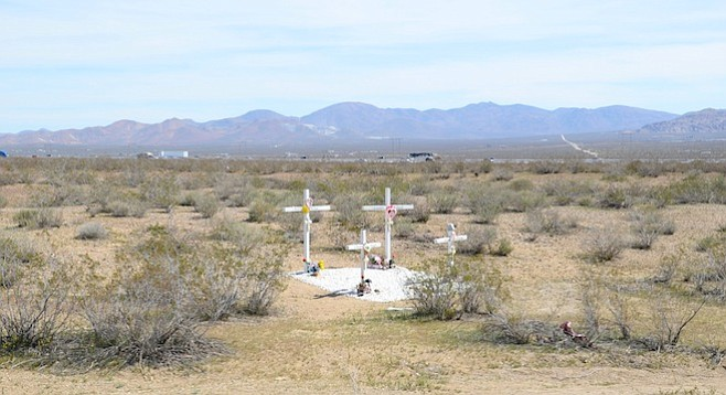 The McStays were found in a shallow grave near Victorville.
