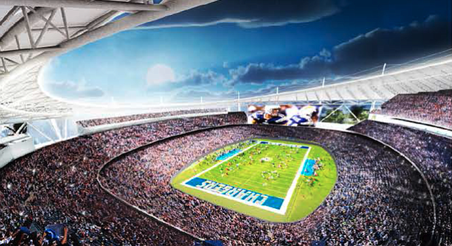 Will this be the Chargers stadium that leads the team to a victorious season?