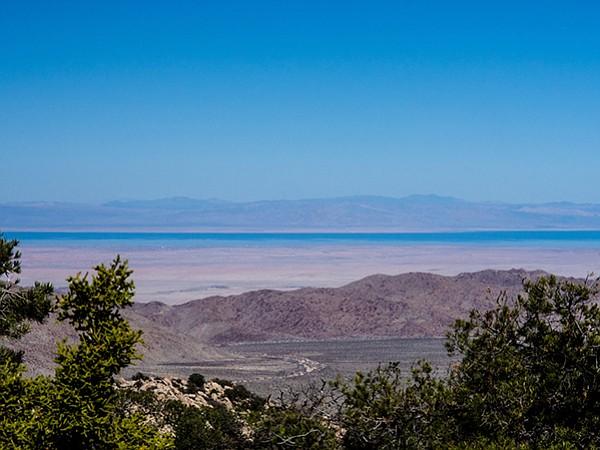 Looking toward the Salton Sea