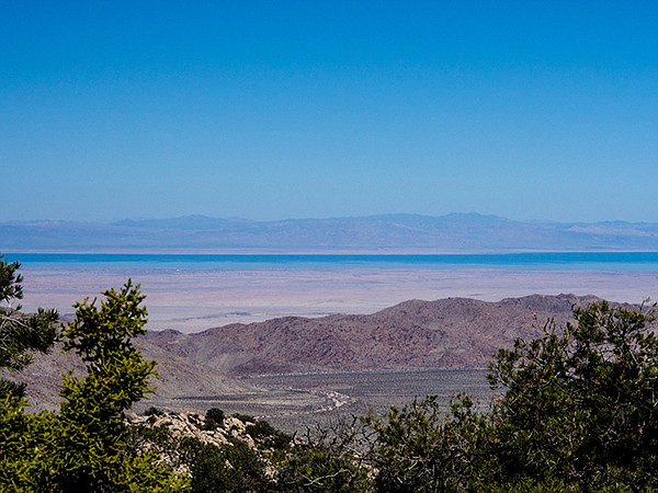 Looking toward the Salton Sea