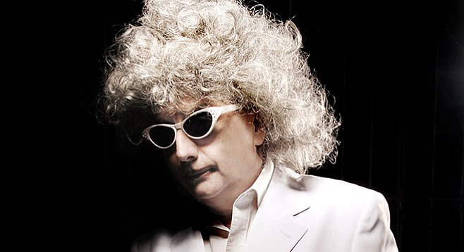 """Lounge-pop oddity Gary Wilson will take you on a """"Sea Cruise"""" Tuesday night at the Hideout."""