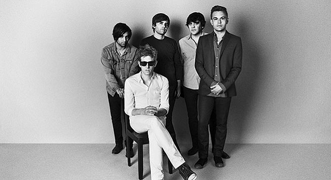 "Spoon's past San Diego dates include a Canes show, when they had a tour manager who was ""a bit of a Tasmanian Devil."""