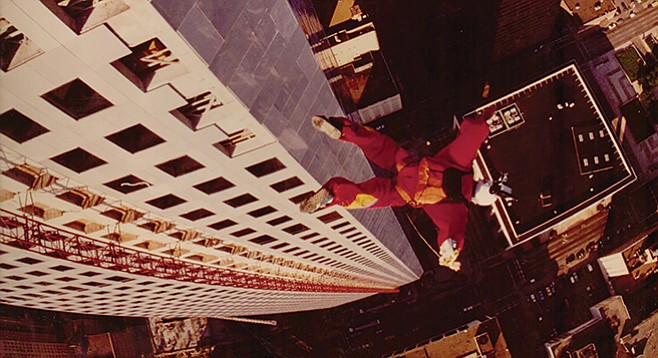 Sunshine Superman: If you build it, they will jump.