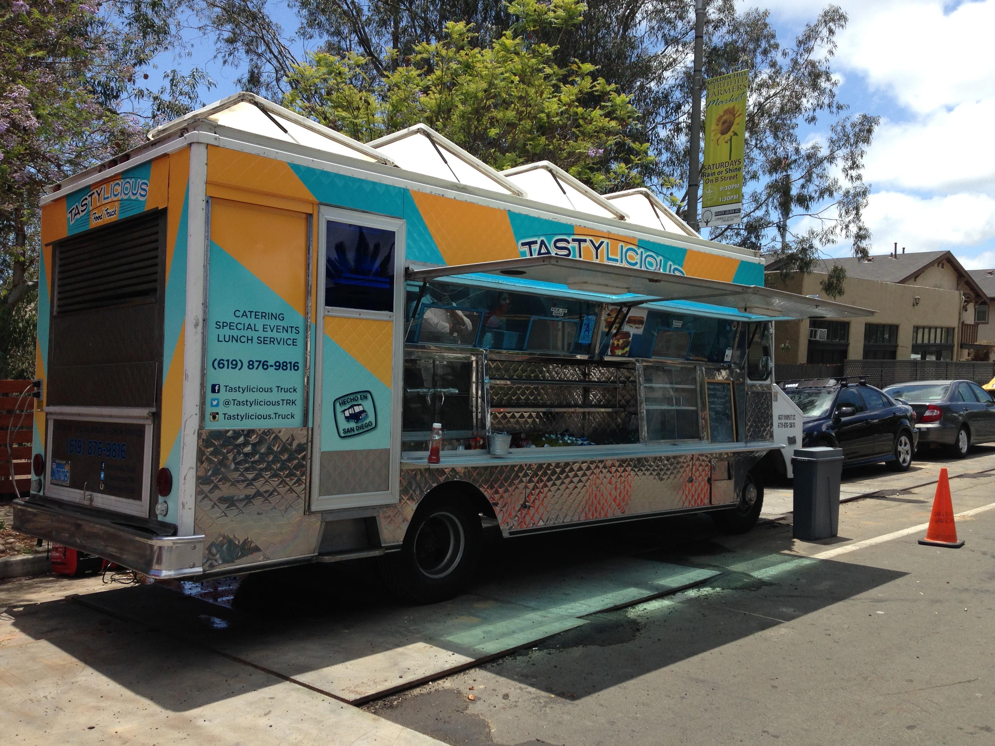 The humble Tastilicious food truck