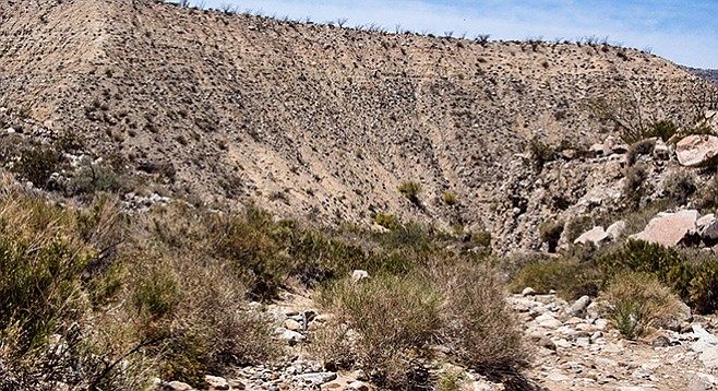 The top of Jackass Flat was once home to Cahuilla Indians.