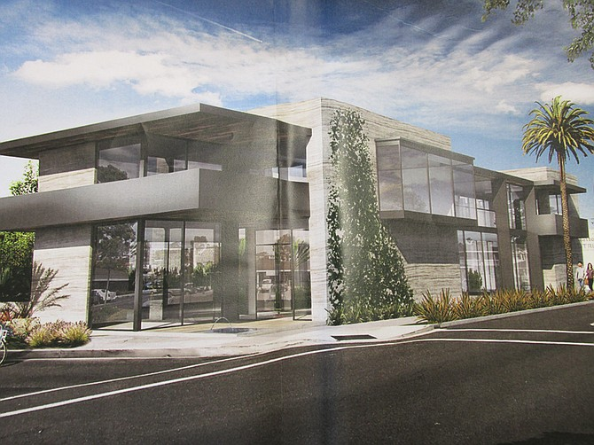 Getting classy encinitas san diego reader for Two story office building plans