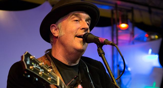 """Acoustic artist Dwyer's winery gigs are drying up —  """"The struggle is real."""""""