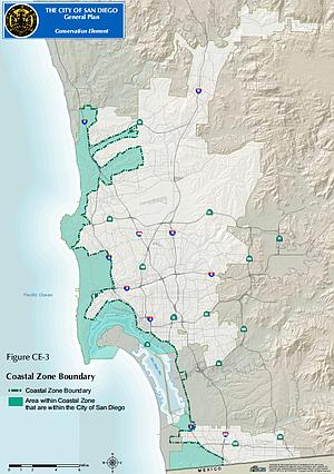 The City of San Diego's coastal zone