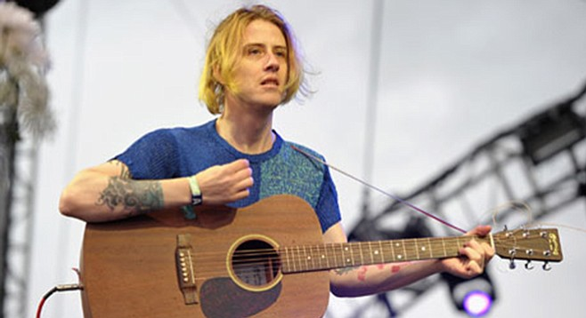 Indie-pop artist Christopher Owens (Girls) plays Casbah on Friday.