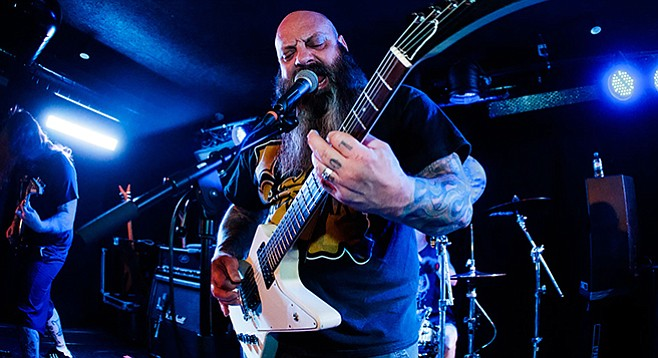 From New Orleans, sludge-metal band Crowbar takes the stage at Til-Two on Thursday.