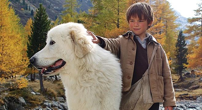 Belle and Sébastien: Good dog! Very good dog! Very big good dog!