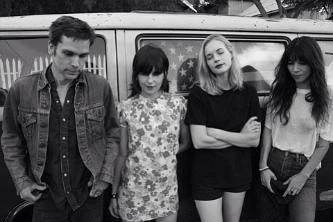 L.A. garage-punk group Death Valley Girls hit the Hideout Monday night!
