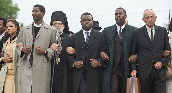 Marching in Selma