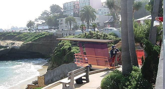 La Jolla Cove Tower artist's rendering
