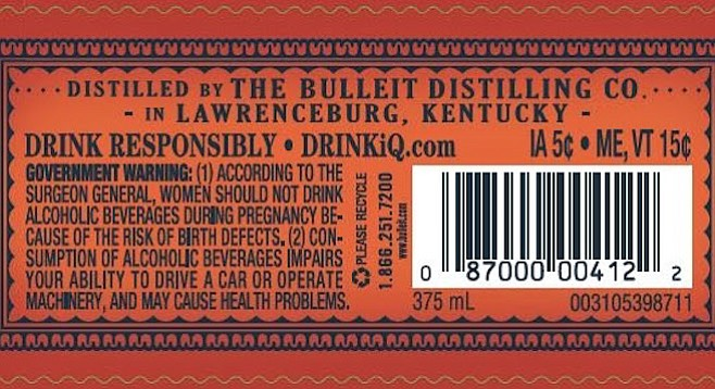 Bulleit distilled in Lawrenceburg? Bull**it, say lawyers