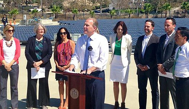 Mayor Faulconer lays out his plan at a September 2014 press conference