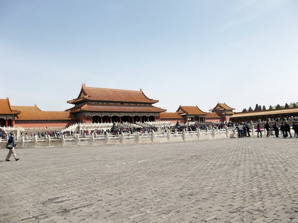 Another Forbidden City view.