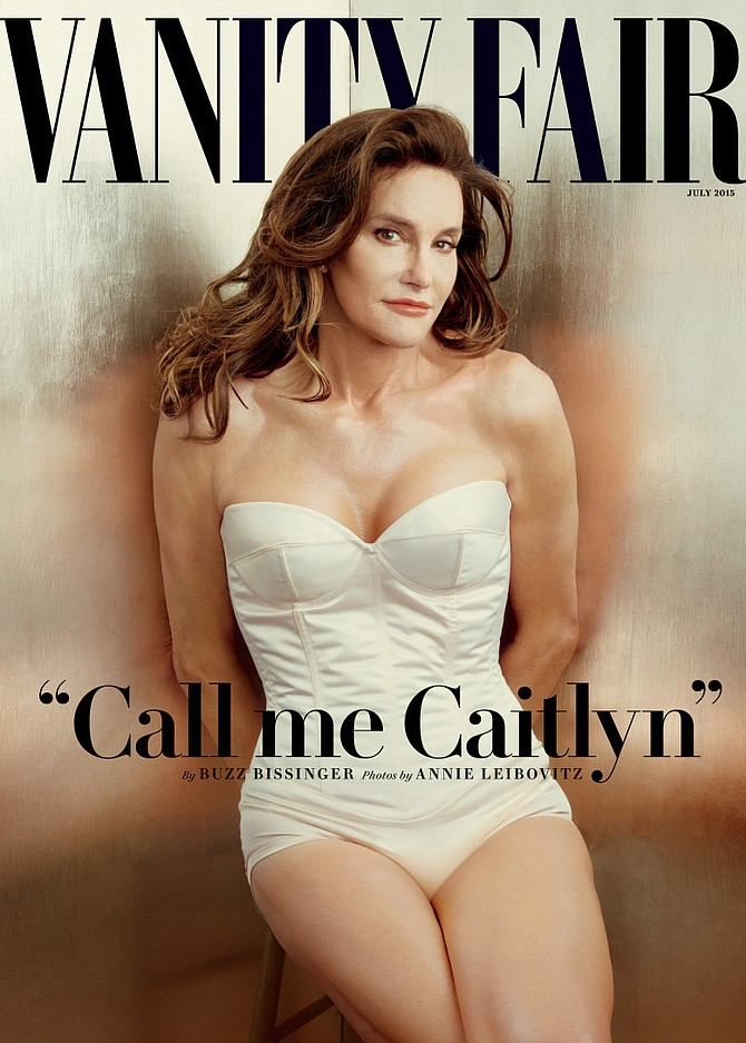 Bruce/Caitlyn Jenner makes the cover of Vanity Fair
