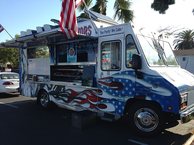 Hot rod food truck, American style