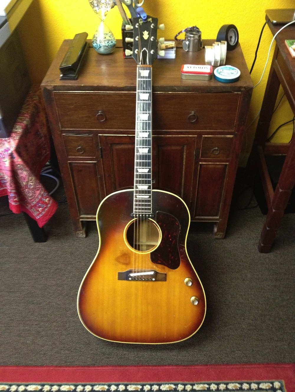 John McCaw, who bought the guitar from a friend in 1969 for $175, never knew what he had.