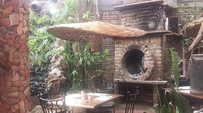 Garden Patio At El Nido Restaurant