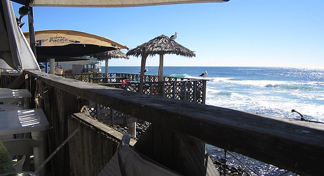 View From The Deck At Popotla S Atotonilco