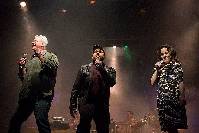Kurt Norby, Gregory Jbara, Alice Ripley in Everybody's Talkin: The Music of Harry Nilsson at San Diego Rep