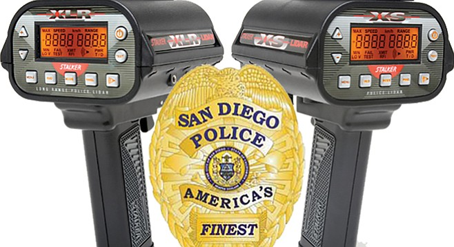 "Cops will soon have ""C-Thru Technology"" (Lidar XLR radar guns)"