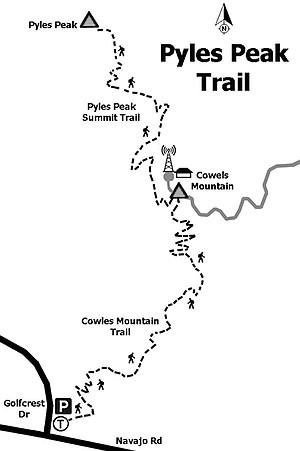 Pyles Peak via Cowles Mountain