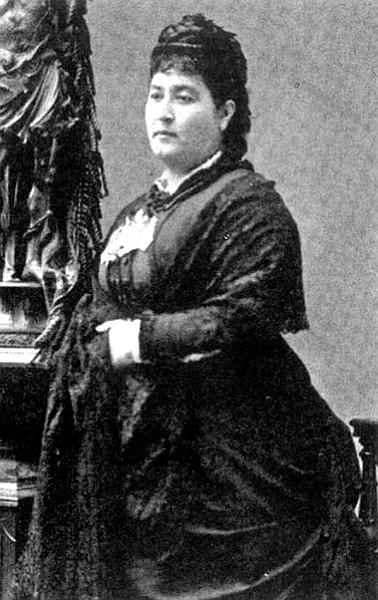 María Ampara Ruiz de Burton visited the Lincolns in D.C.