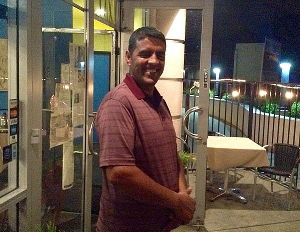 Atiq took in a footsore midnight customer