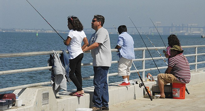Family Fishing Tournament on San Diego Bay this Sunday