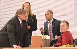 Team of defense attorneys w Merritt.