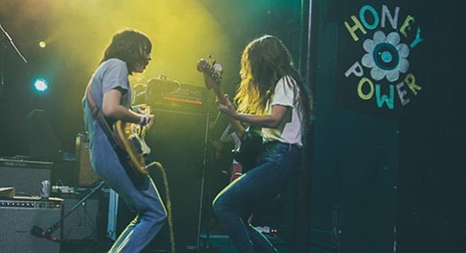 """Doom-boogie"" girl-boy gang Death Valley Girls hit the Hideout Thursday night!"