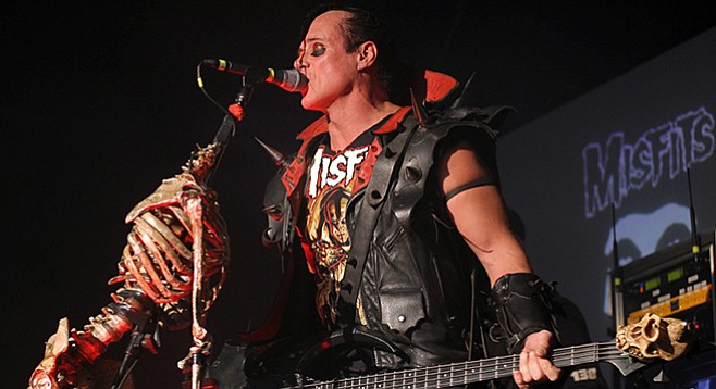 Not your dad's Jersey boys...or maybe they are! Horror punk band Misfits invade Observatory North Park Father's Day night!
