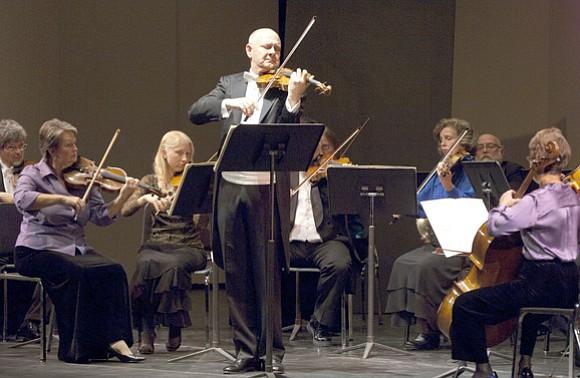 Concertmaster Bill Preucil