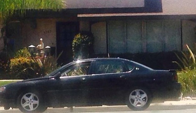 Chevy Malibu driven by two black teenagers to home invasion Wednesday on Mt. Carol