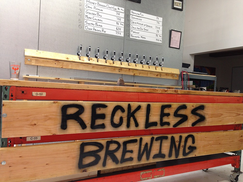 Reckless brewing opens where Wet 'N Reckless left off.
