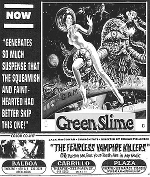 Films were grinded out almost nonstop, from 9:30 a.m. through 5:30 a.m. with action, horror, and soft-core sexploitation movies.