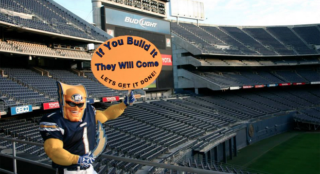 Could Chargers Fan Boycott Cripple Hotel Magnates San