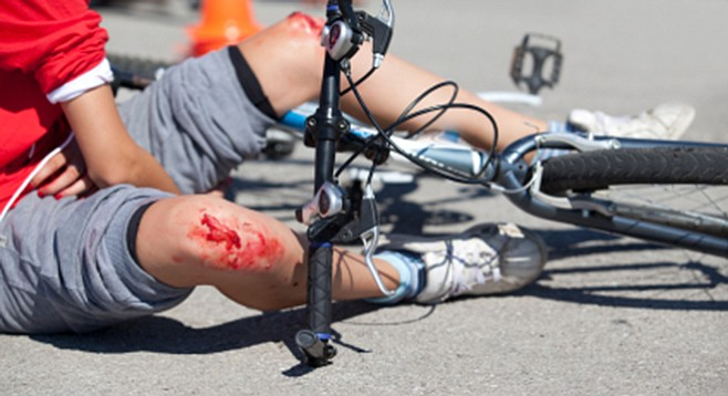 "The good news: where liability in a car vs. bike accident is ""pretty clear, insurance companies